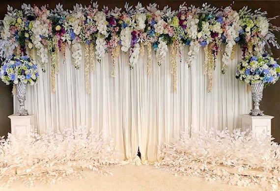 Wedding Backdrop Flower Wedding Rustic Wedding Decor Etsy