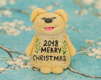 Dog Christmas Ornament Funny Coworker Gift Boyfriend Christmas Gift College Student Gift Husband Gift Brother Gift Mens Gift Teen Gift