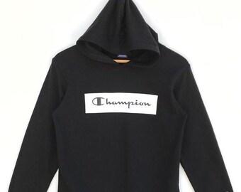 c3980e7dfa0e 20% OFF Vintage Champion Box Logo Hoodie   Champion C Logo   Hoodie Sweater    Champion Sweater   Champion Big Logo