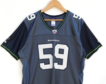Vintage SEATTLE SEAHAWKS by Reebok Curry Player Jersey 12cc0013b