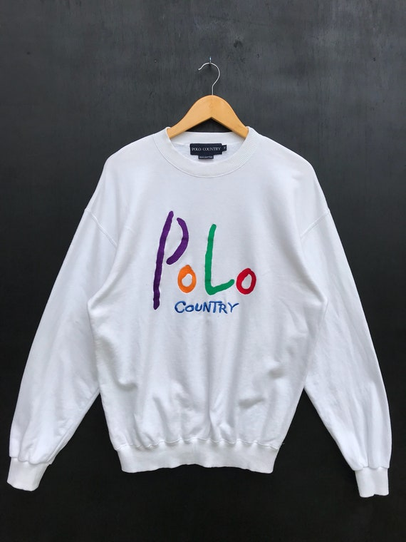 Vintage Polo Country Sweatshirt / Polo Country Swe