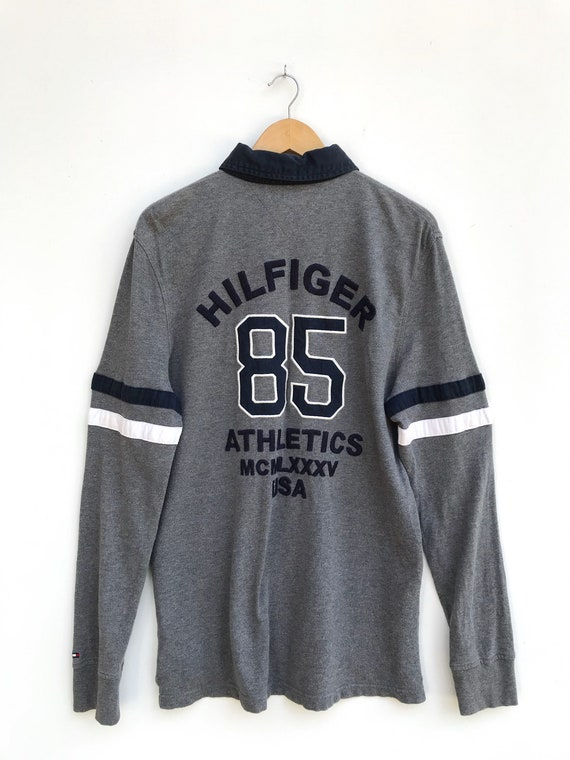 Vintage Tommy Hilfiger 85 Athletics USA Rugby Shir
