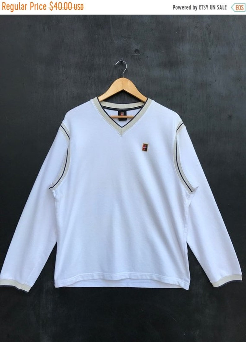 9b3bb6e7 MEGA SALE Vintage Nike Embroidery Classic Logo Pullover /   Etsy