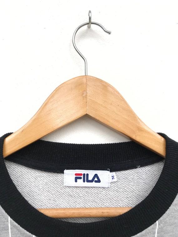 Vintage Fila Big Logo Sweatshirt / Fila Sweater /… - image 3