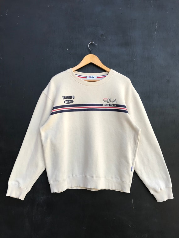 Vintage Fila Sweatshirt / Fila Sweater / Casual Cl