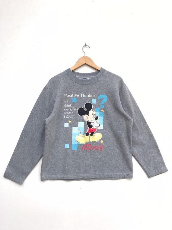 Vintage Mickey Mouse Pullover / Mickey Mouse Sweat
