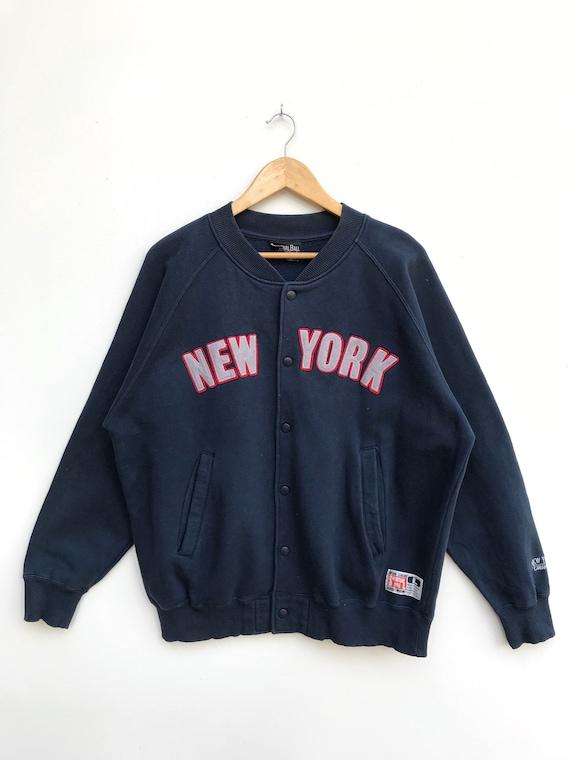 Vintage New York Button Jacket / New York Varsity