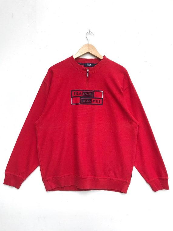 Vintage Fila Sport Sweatshirt / Fila Sweater / Cas
