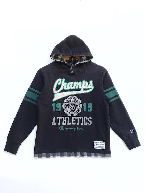 Vintage Champion Hoodie / Champion C Logo / Champi