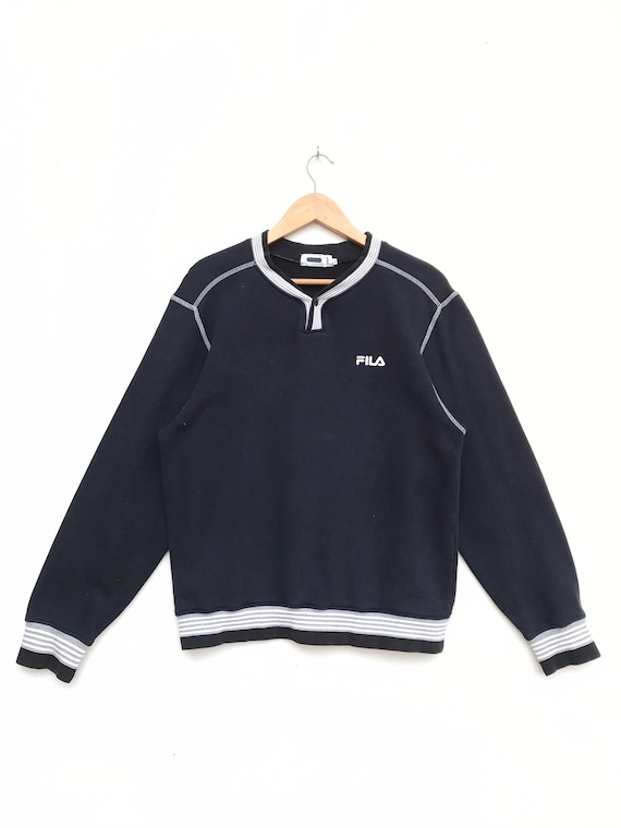 Vintage Fila Embroidery Logo Sweatshirt / Fila Swe