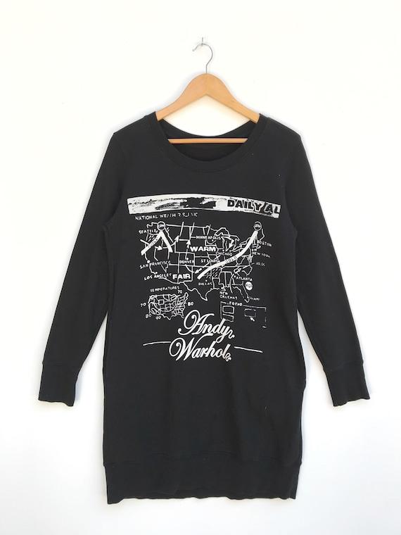 Vintage Andy Warhol Women Sweatshirt / Andy Warhol