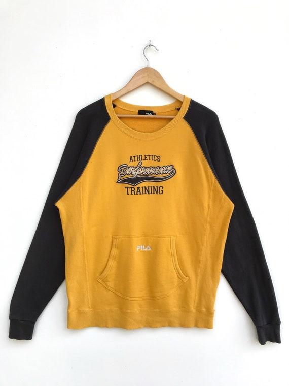 Vintage Fila Athletic Performance Training Sweatsh