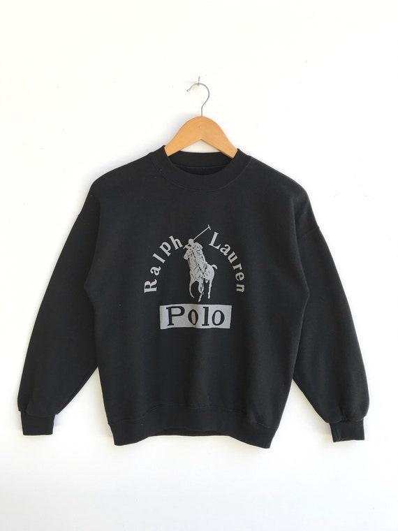 Vintage Polo Ralph Lauren Sweatshirt / Polo Big Pr