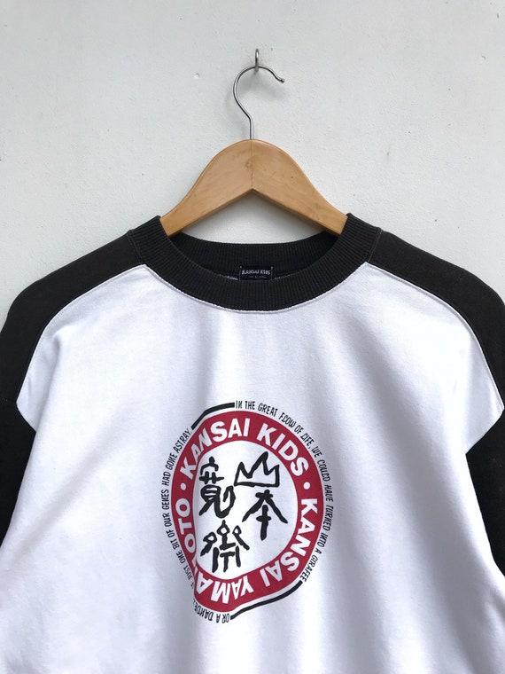Vintage Kansai Kids By Kansai Yamamoto Sweatshirt… - image 4