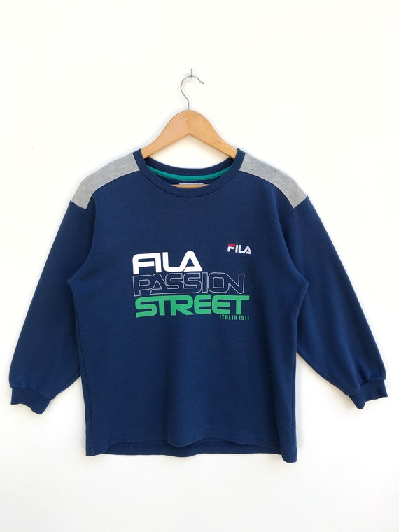 Vintage Fila Pullover Sweater / Casual Clothing /