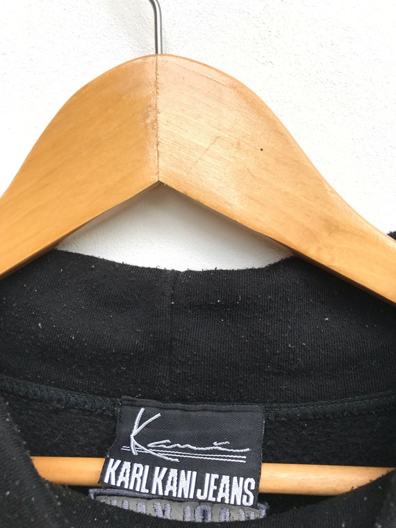 30 % sur vente Vintage Karl Kani Kani Karl gros Logo Pullover pull / Sweatshirt de Karl Kani / Hip Hop vêtements Streetwear Swag e5822b