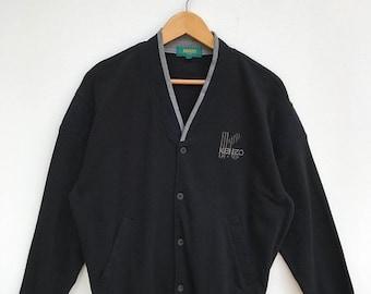 20% OFF Vintage Kenzo Golf Cardigan / Kenzo Paris / Kenzo Sport Shirt / Kenzo Golf / Kenzo Sport
