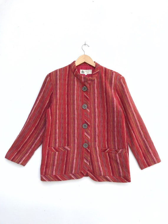 Vintage Hardy Amies London Button Jacket / Hardy A