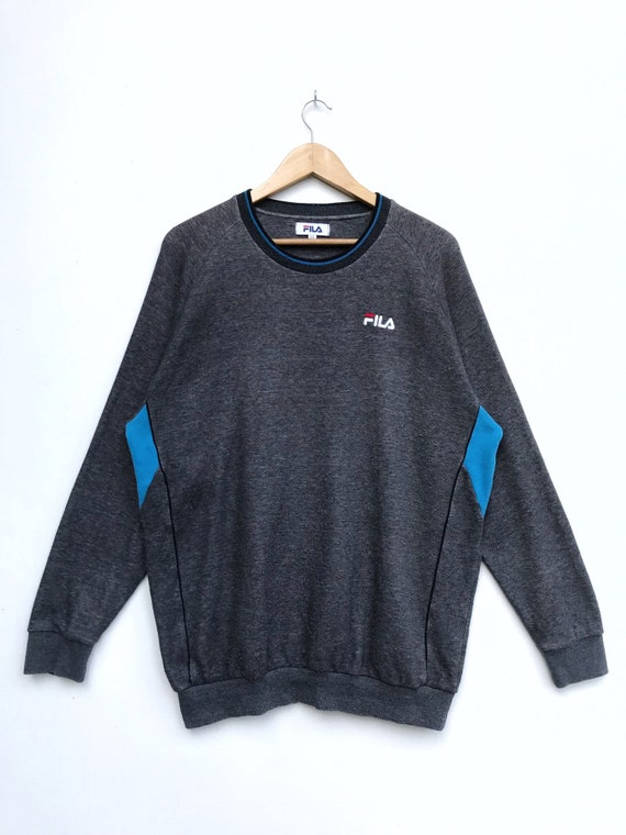 Vintage Fila Embroidery Logo Sweatshirt/Fila Sweat