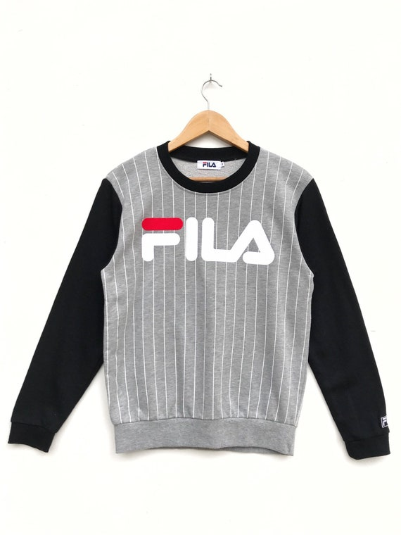 Vintage Fila Big Logo Sweatshirt / Fila Sweater /