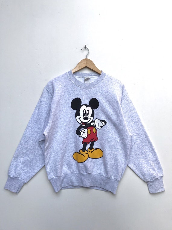 Vintage Mickey Mouse Sweatshirt / Mickey Mouse Swe