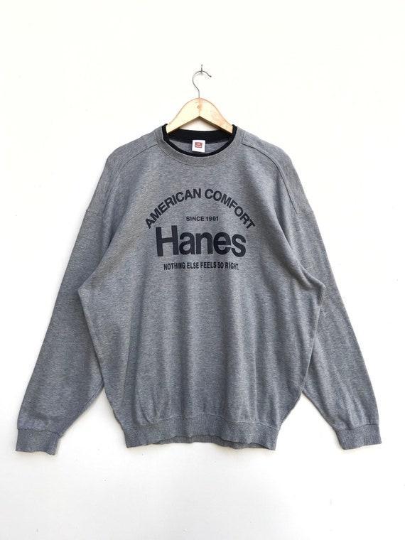 Vintage Hanes Sweatshirt / Hanes Sweater / Hanes S