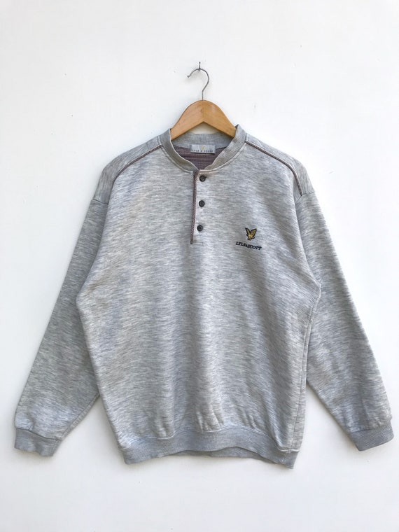 Vintage Lyle And Scott Sweatshirt / Lyle And Scott