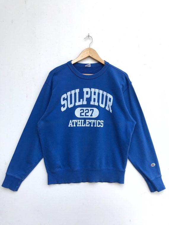 Vintage Champion Sulphur Athletics Sweatshirt / Ch