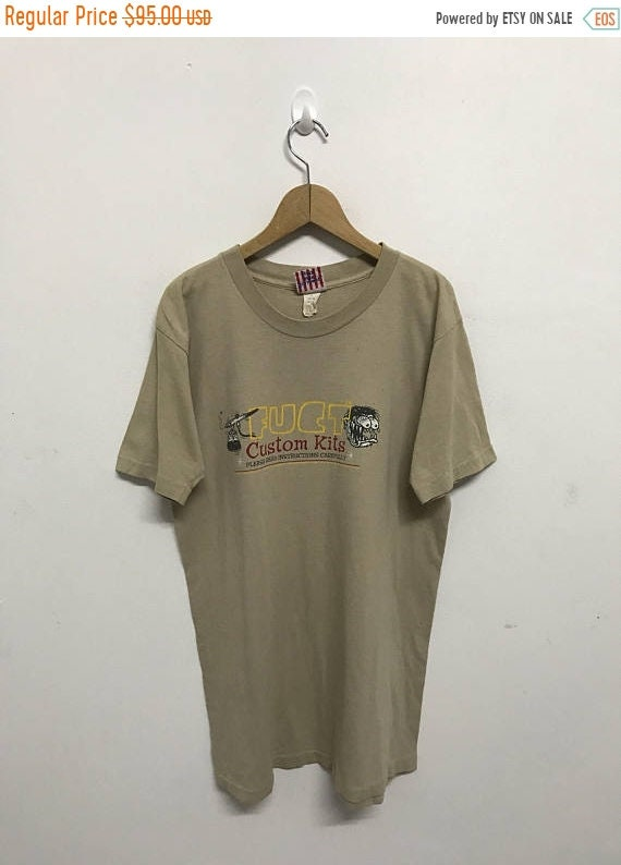 20% OFF Vintage Fuct Custom Kits Skateboard T Shirt/Skate Clothing/Skateboarding/Powell/Zorlac 2zpvVfdv