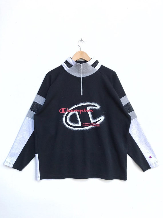 Vintage Champion Pullover Half Zipper / Champion S
