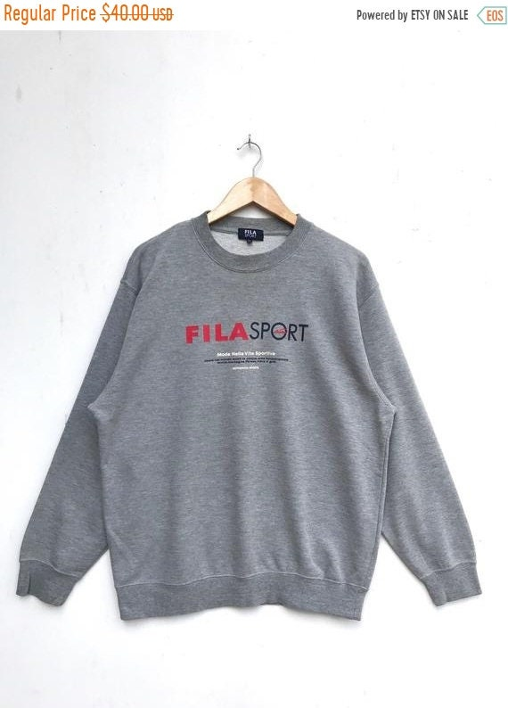 20% OFF Vintage Fila Sport Sweatshirt   Fila Sweater   Casual  4266e434a8d8d