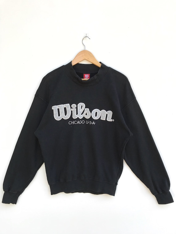 Vintage wilson Chicago Usa Sweatshirt Big Logo / W