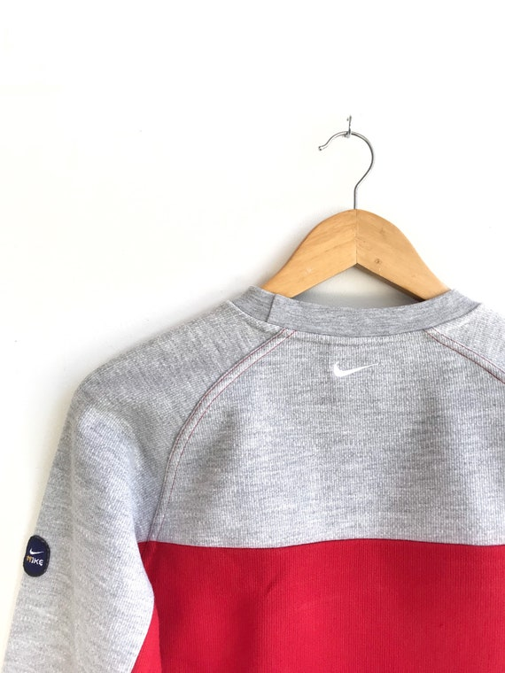 RESERVED..Vintage Nike Embroidery Logo Pullover /… - image 3