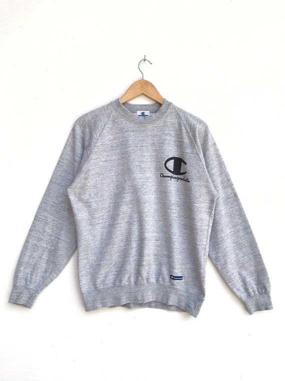 Vintage Champion Big Logo Sweatshirt / Champion Pu