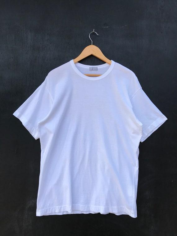Vintage Comme Des Garcons Homme Plain White T Shir