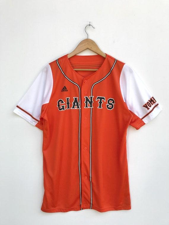 Vintage Adidas Giants Baseball Jersey / Yomiuri Ba