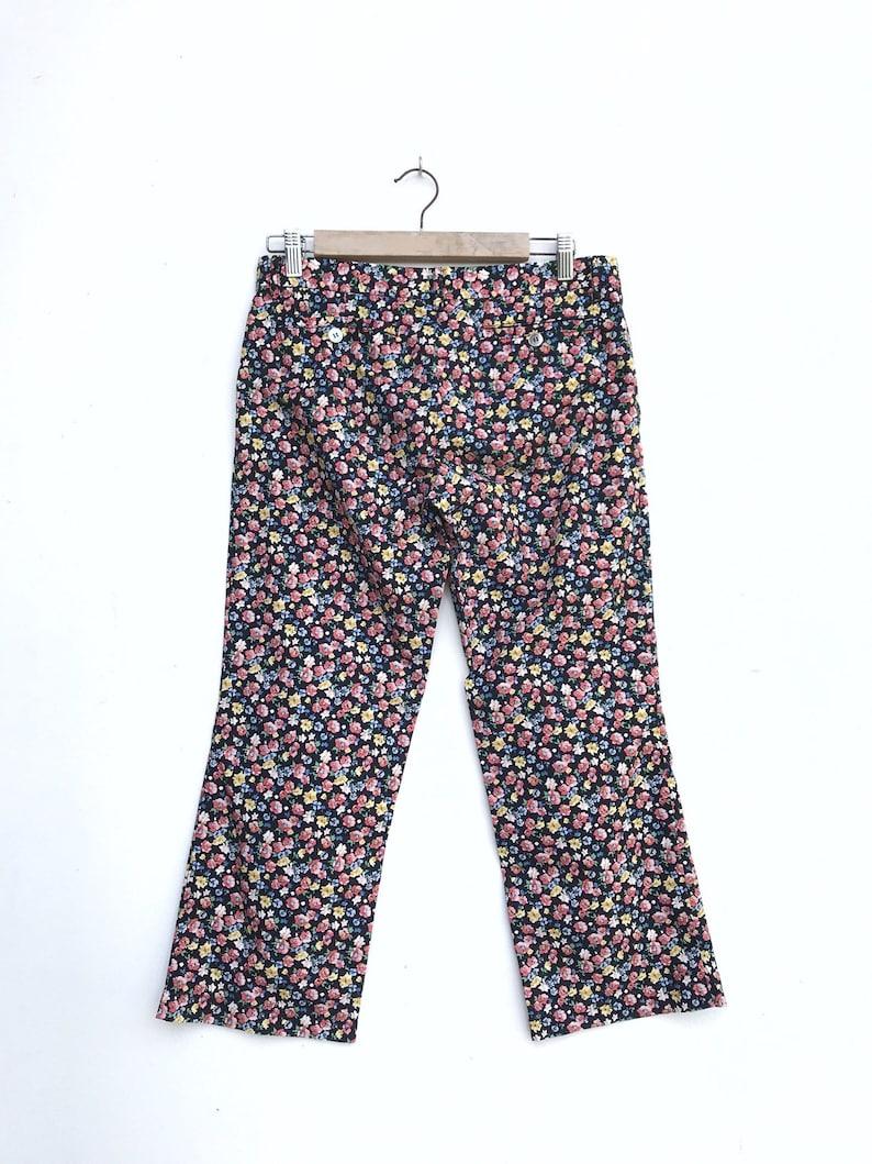 Vintage Comme Des Garcons Tricot Cropped Pants  Checkered Pants  Designer  Japanese Brands