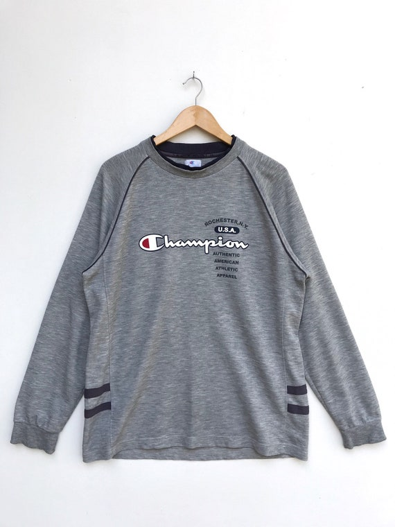 Vintage Champion  Spellout Pullover / Champion Swe