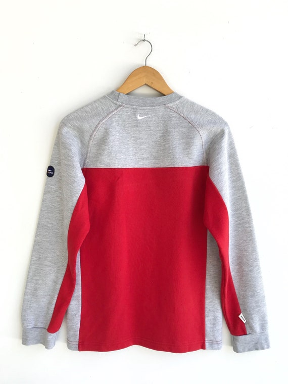 RESERVED..Vintage Nike Embroidery Logo Pullover /… - image 4