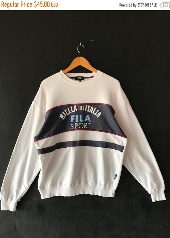 20% OFF Vintage Fila Sport Sweatshirt   Fila Big Logo   Fila  725ec4e5abefd