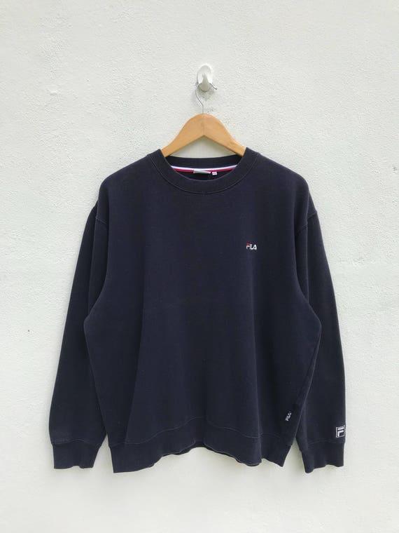 efe159d4ca54a Vintage Fila Embroidery Logo Sweatshirt / Fila Sweater / Fila | Etsy