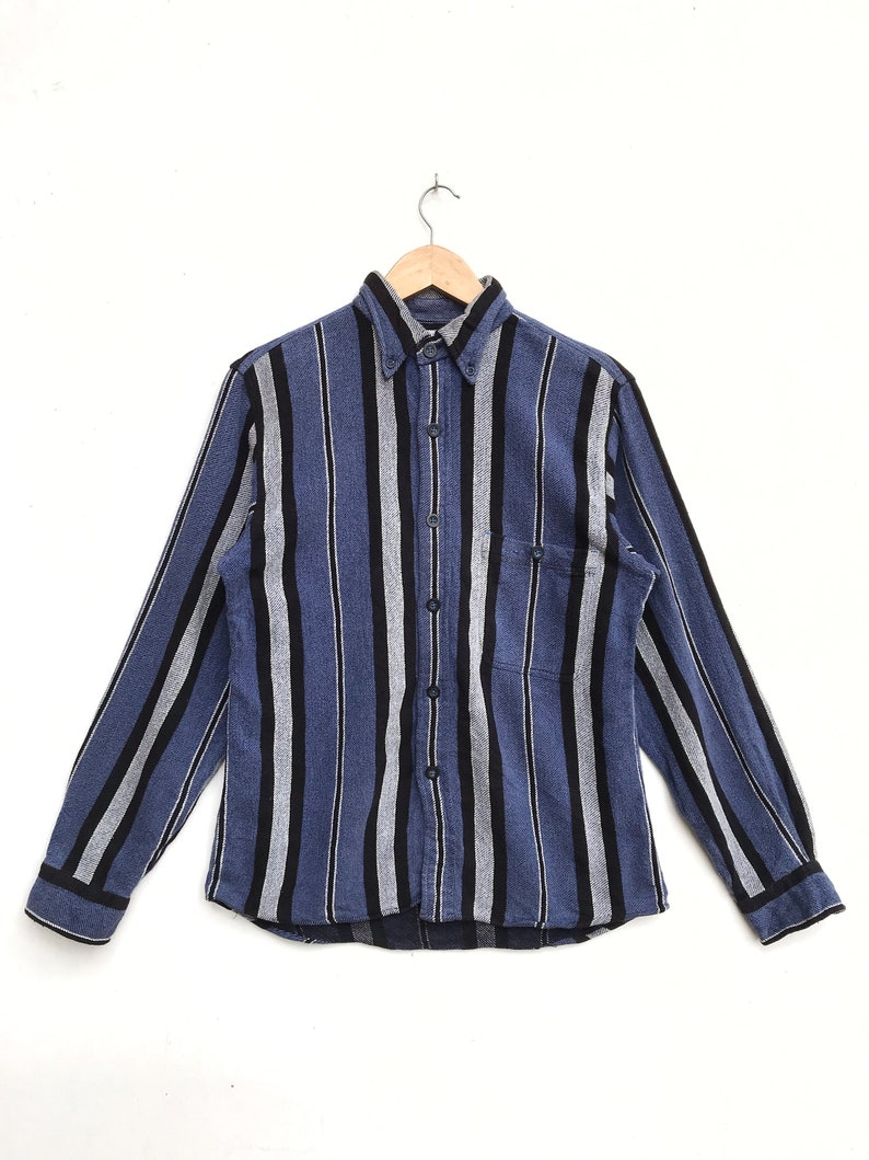 Vintage Reason Daily Wear Heavy Flannel Shirt  Vintage Flannel  Vintage Shirt