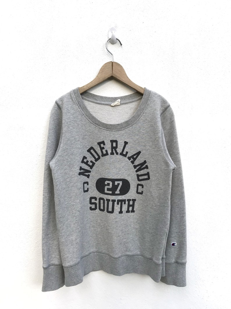 c61d5c740932 Vintage Champion Nederland South C Logo Sweatshirt / Champion   Etsy