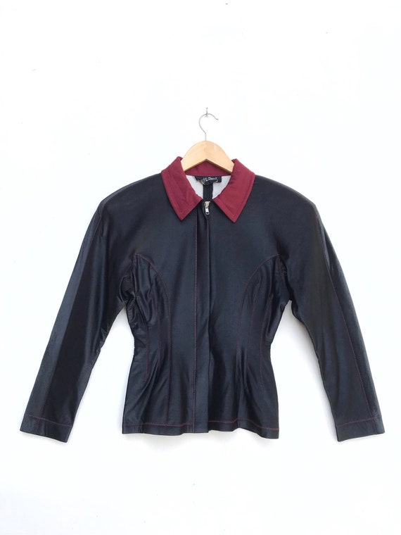 Vintage Jean Paul Gaultier Zipper Jacket / Gaultie