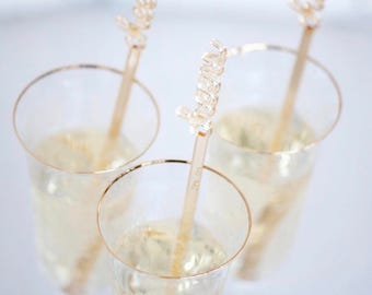 Cheers,Champagne,Swizzle Sticks,Cocktail Party,Perfect Weddings,Drink Stirrer,Stir Sticks,Wedding,Bridal Shower,Party,Bachelorette,6 Pk