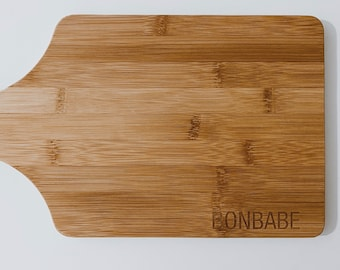 BONBABE Laser Engraved Bamboo Cutting Board, Bon Babe Bamboo Custom Cutting Board, Custom Bamboo Board, Engraved Cutting Board,Arbonne gift