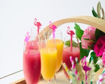 Flamingo Drink Stirrer,Flamingo decor,Bachelorette Party,Bridal Shower,Tropical,Swizzle Stick,acrylic stirrer,Laser Cut,Palm springs,50 Pack