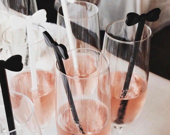 Bow Tie, Drink Stirrer, Perfect Weddings, Wedding Shower, Bachelor Party, Gift for him, Swizzle Sticks, Gentlemen,Laser Cut,6 Pk