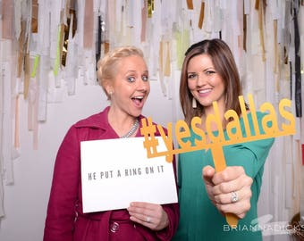Acrylic Photobooth Props/Wedding / Hashtag Prop / Photo Props / Custom Wedding Signs / Wedding Hashtag / Calligraphy Signs / Laser Cut Signs