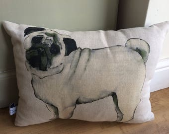 Pug Cushion/Pillow
